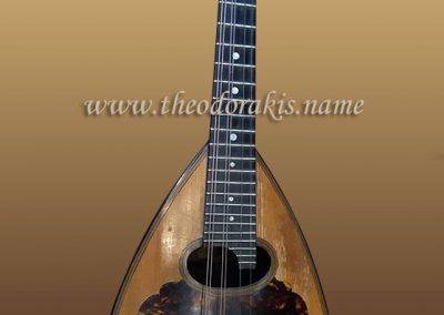 Dimitrios Mourtzinos mandolin